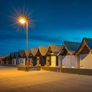 Mablethorpe at night